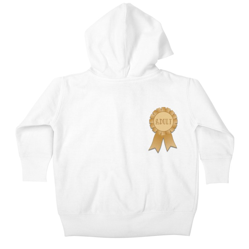 Congratulations on Adulting! Kids Baby Zip-Up Hoody by LLUMA Design
