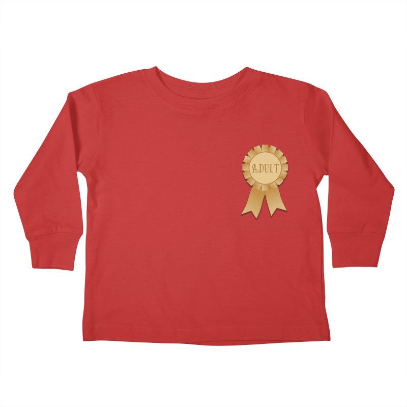 Congratulations on Adulting! Kids Toddler Longsleeve T-Shirt by LLUMA Design