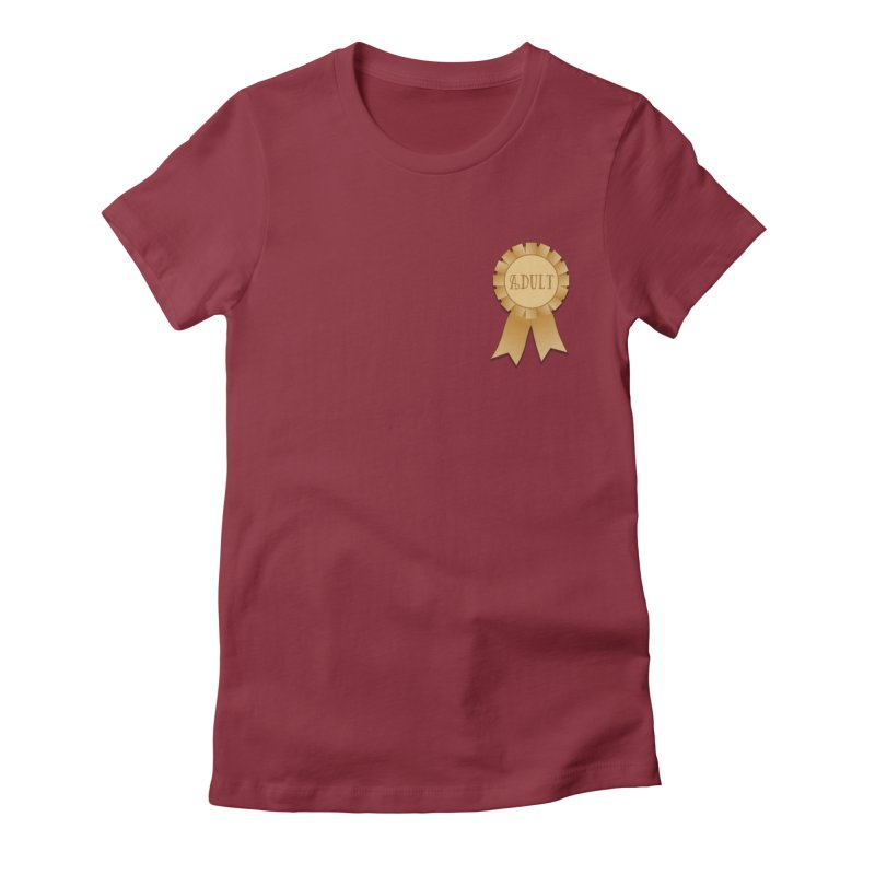 Congratulations on Adulting! Women's Fitted T-Shirt by LLUMA Design