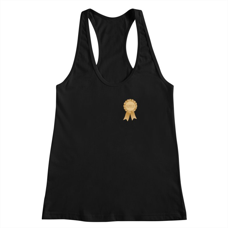 Congratulations on Adulting! Women's Racerback Tank by LLUMA Design