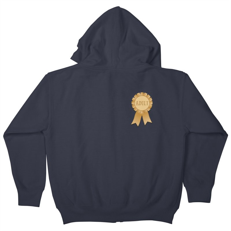 Congratulations on Adulting! Kids Zip-Up Hoody by LLUMA Design