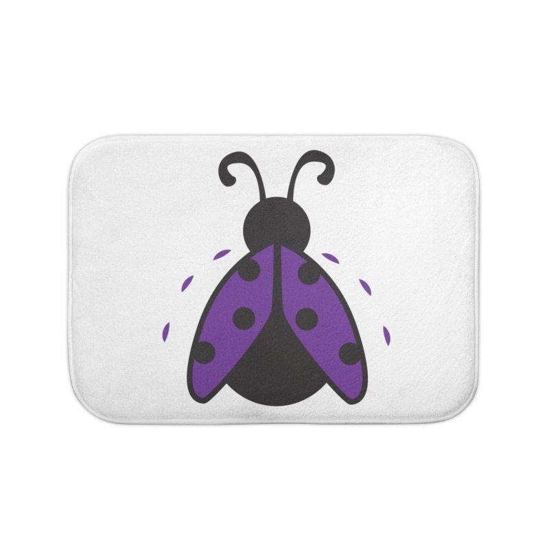 Lady Bug Home Bath Mat by LLUMA Design