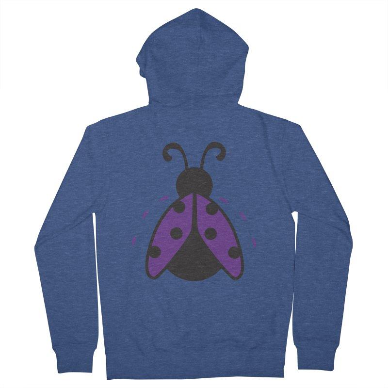 Lady Bug Women's Zip-Up Hoody by LLUMA Design