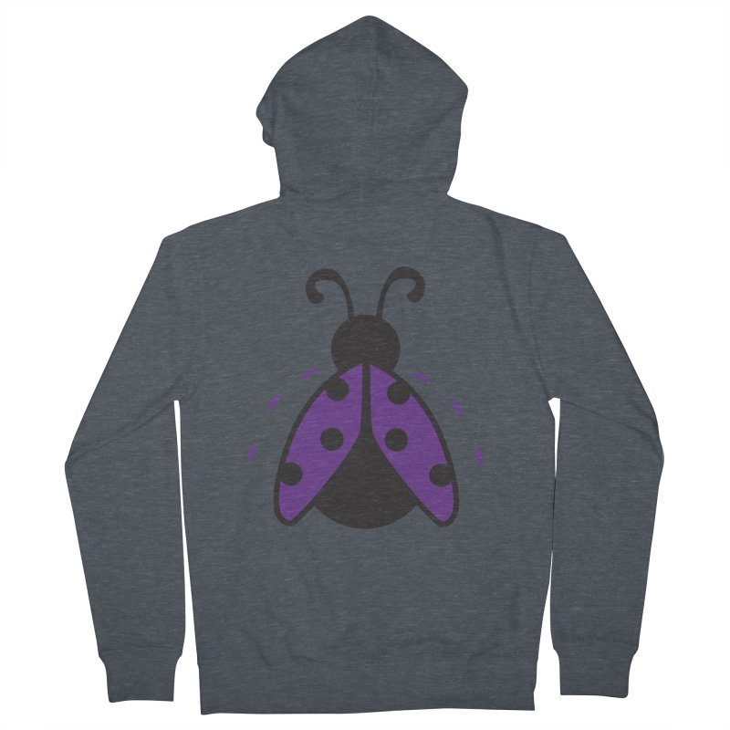 Lady Bug Men's Zip-Up Hoody by LLUMA Design