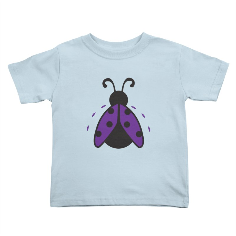 Lady Bug Kids Toddler T-Shirt by LLUMA Design