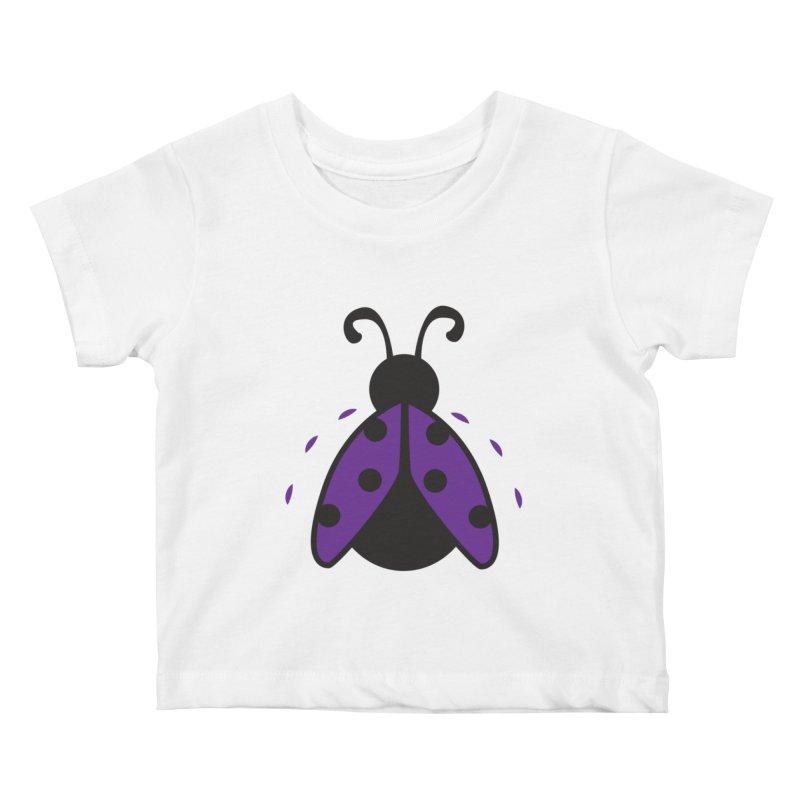 Lady Bug Kids Baby T-Shirt by LLUMA Design