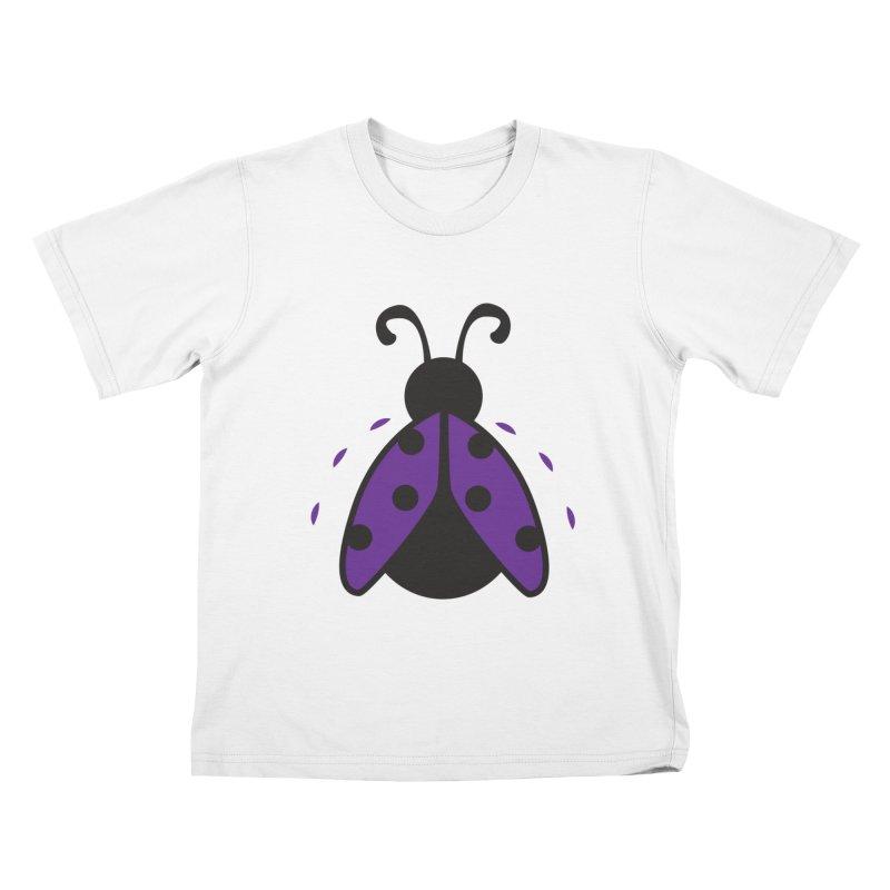 Lady Bug Kids T-shirt by LLUMA Design