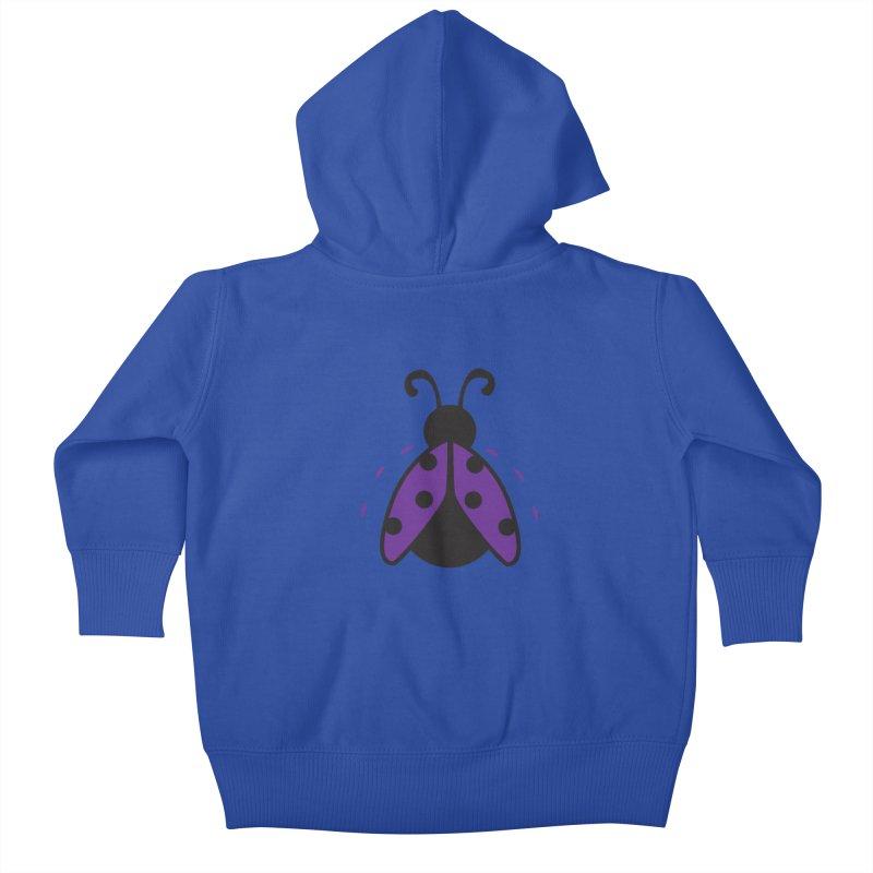 Lady Bug Kids Baby Zip-Up Hoody by LLUMA Design