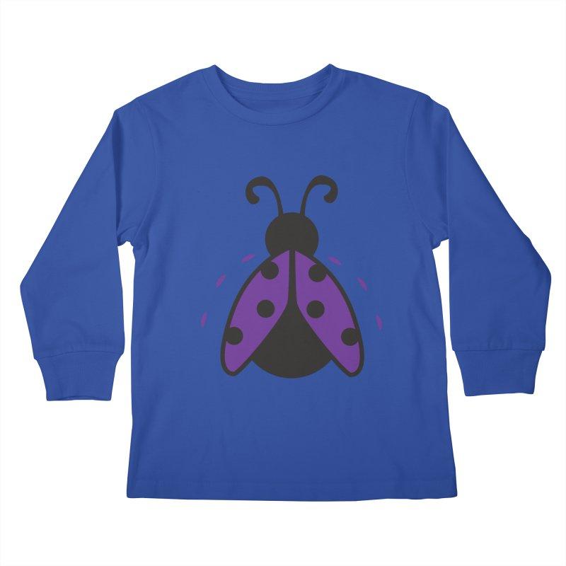 Lady Bug Kids Longsleeve T-Shirt by LLUMA Design
