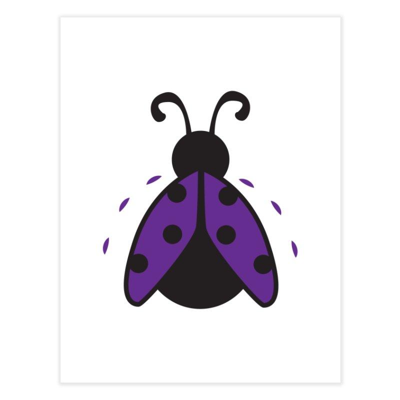 Lady Bug Home Fine Art Print by LLUMA Design
