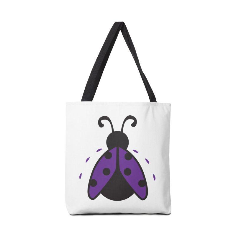 Lady Bug Accessories Bag by LLUMA Design