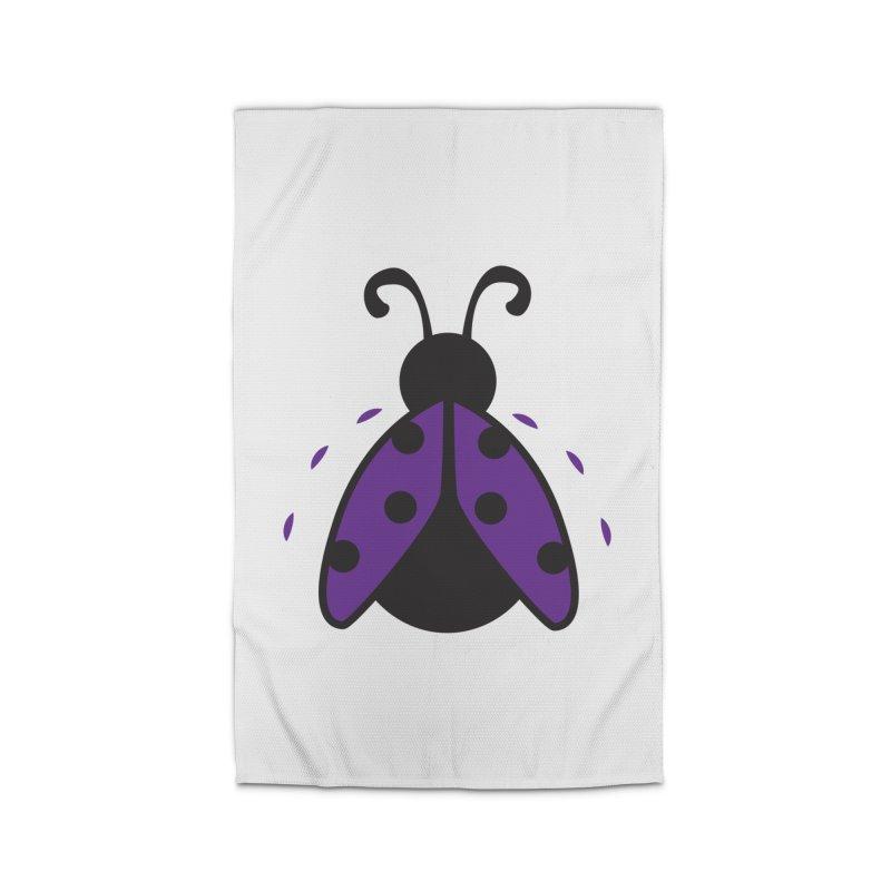 Lady Bug Home Rug by LLUMA Design