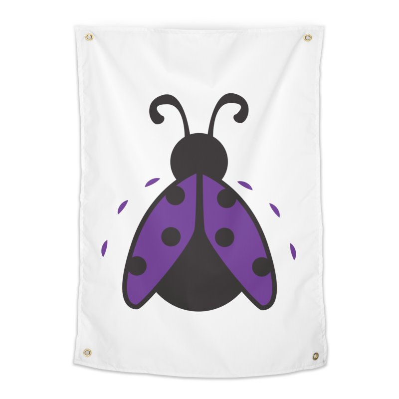 Lady Bug Home Tapestry by LLUMA Design