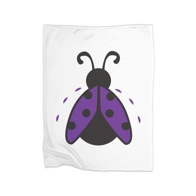 Lady Bug Home Blanket by LLUMA Design