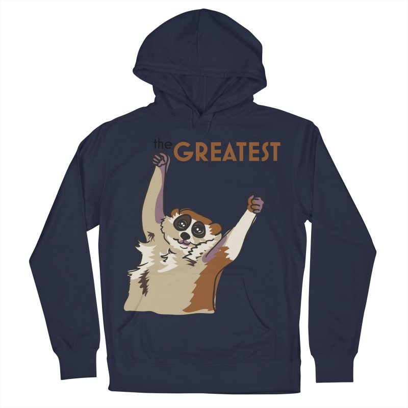 The GREATEST Men's Pullover Hoody by LLUMA Creative Design