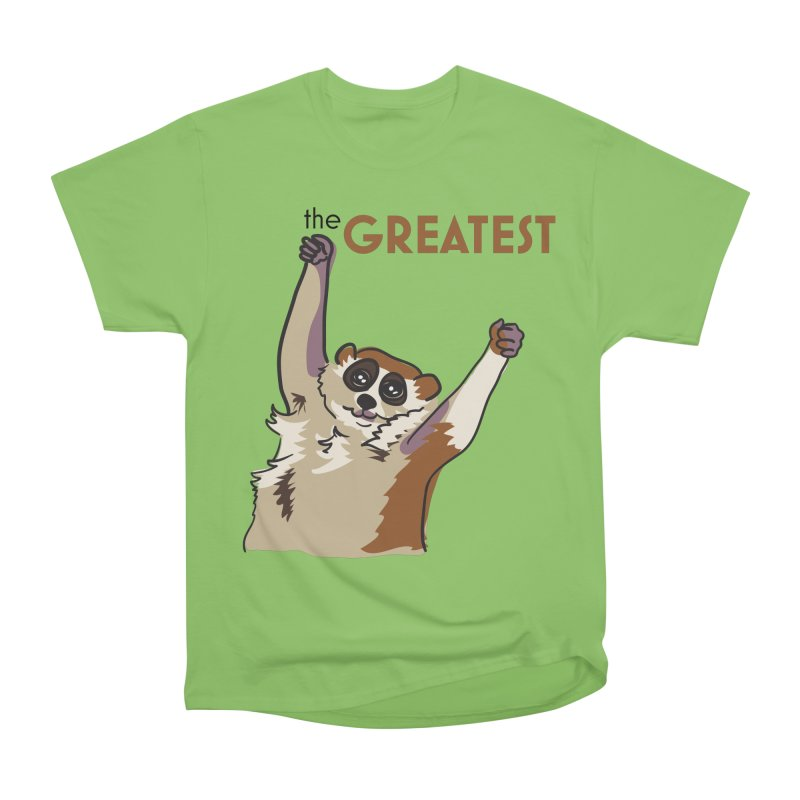 The GREATEST Women's Heavyweight Unisex T-Shirt by LLUMA Creative Design