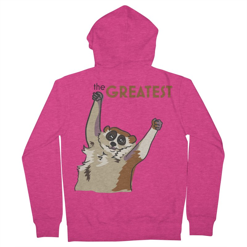 The GREATEST Women's Zip-Up Hoody by LLUMA Creative Design