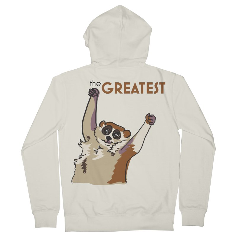 The GREATEST Men's Zip-Up Hoody by LLUMA Design