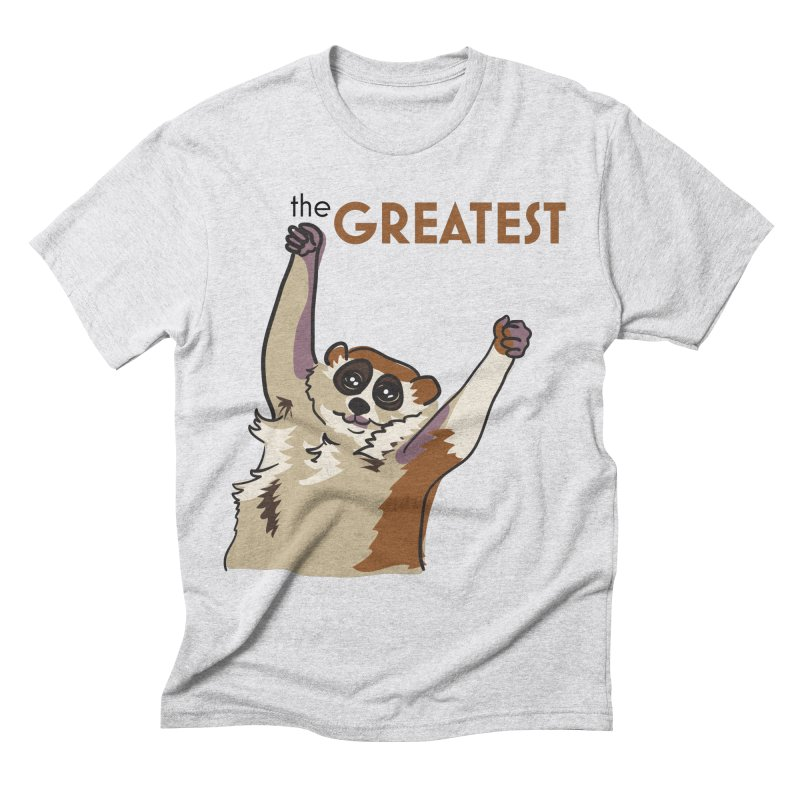 The GREATEST Men's Triblend T-shirt by LLUMA Design