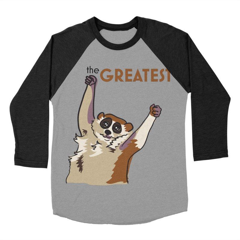 The GREATEST Men's Baseball Triblend T-Shirt by LLUMA Design