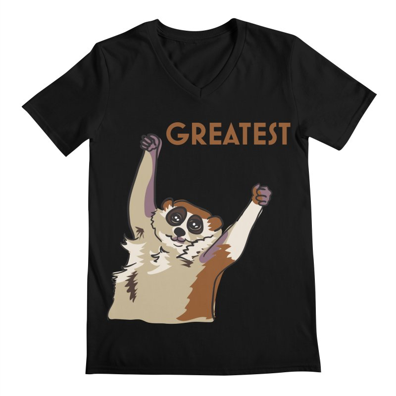 The GREATEST Men's V-Neck by LLUMA Creative Design