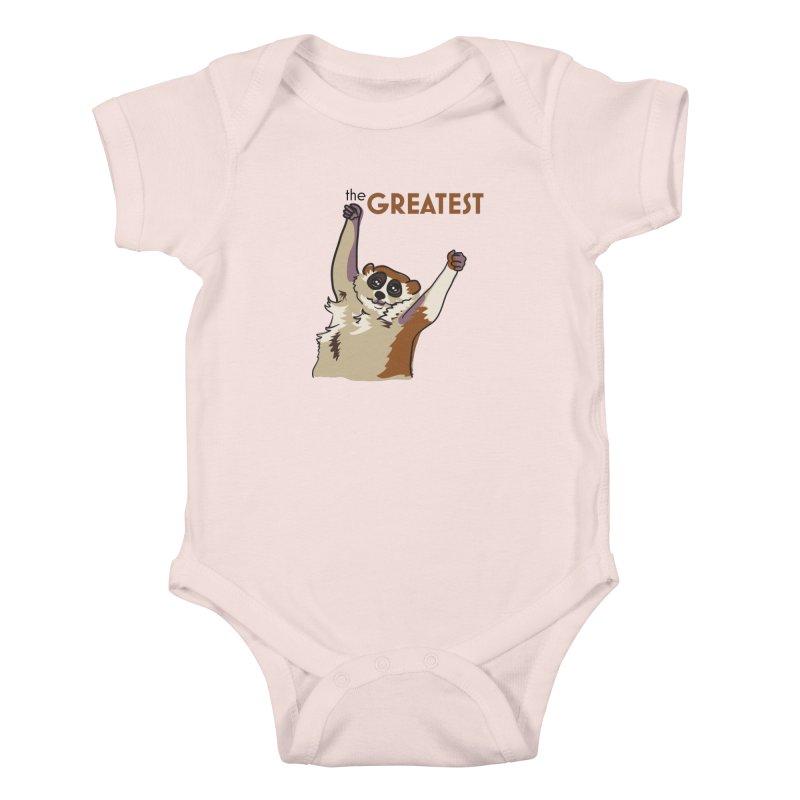 The GREATEST Kids Baby Bodysuit by LLUMA Design