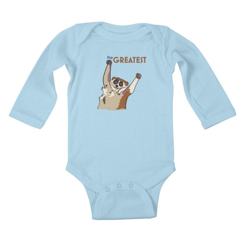 The GREATEST Kids Baby Longsleeve Bodysuit by LLUMA Design