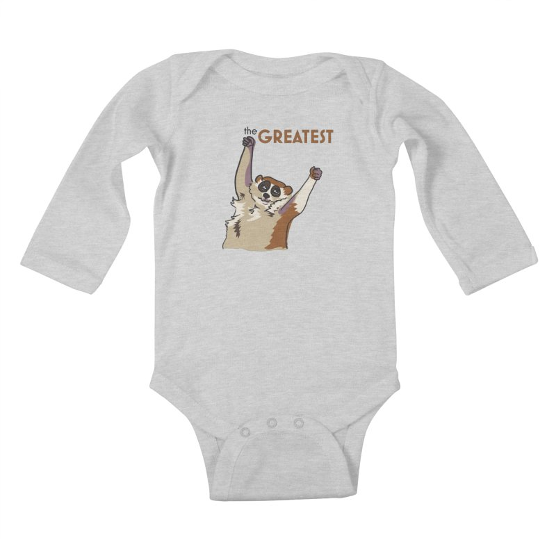 The GREATEST Kids Baby Longsleeve Bodysuit by LLUMA Creative Design
