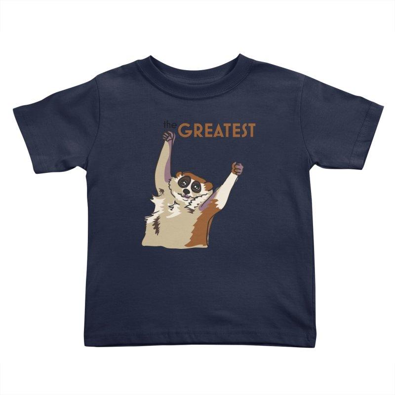 The GREATEST Kids Toddler T-Shirt by LLUMA Design