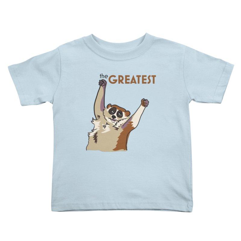 The GREATEST Kids Toddler T-Shirt by LLUMA Creative Design