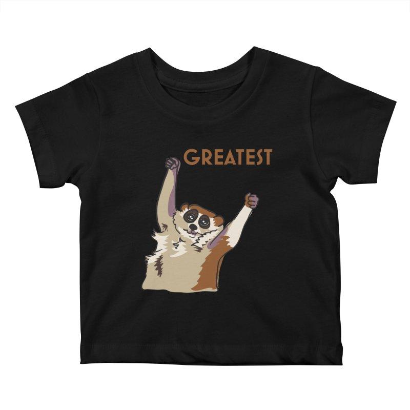 The GREATEST Kids Baby T-Shirt by LLUMA Design