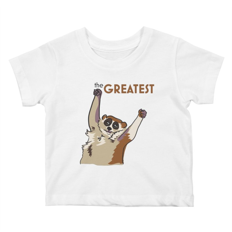 The GREATEST Kids Baby T-Shirt by LLUMA Design