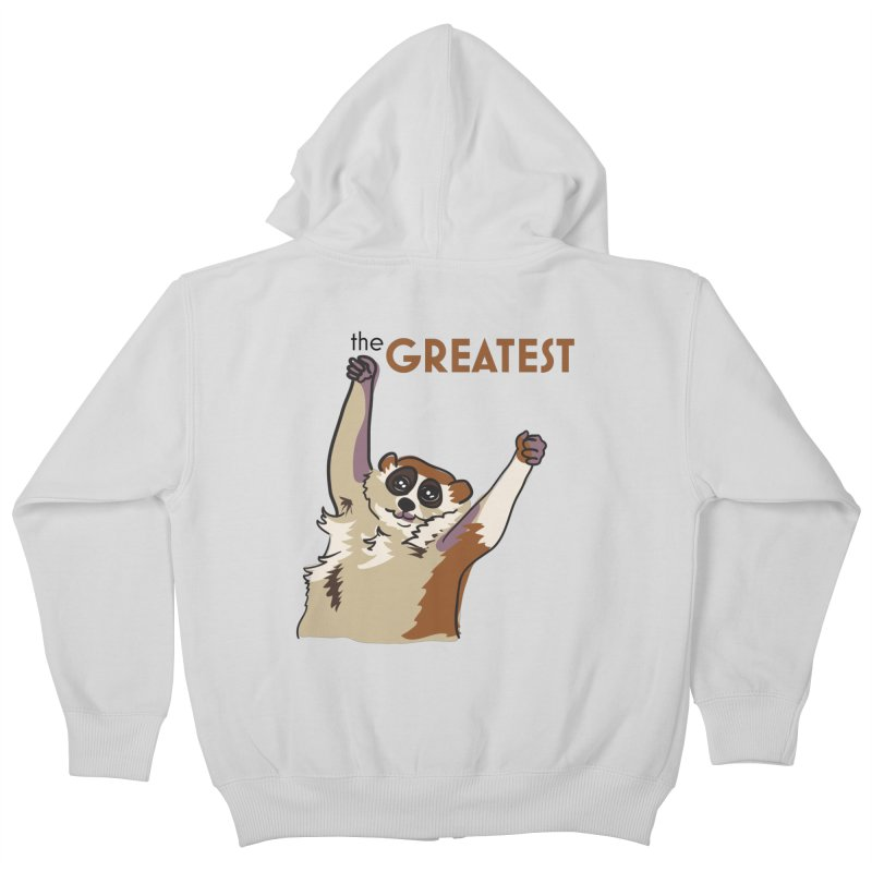 The GREATEST Kids Zip-Up Hoody by LLUMA Creative Design