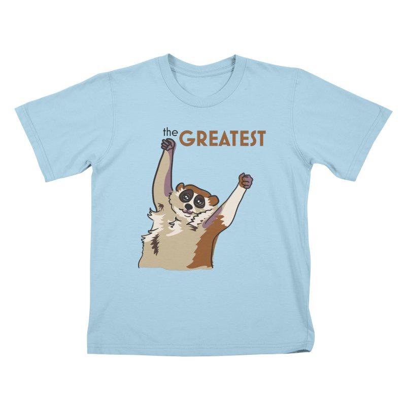 The GREATEST Kids T-shirt by LLUMA Design