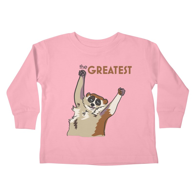 The GREATEST Kids Toddler Longsleeve T-Shirt by LLUMA Design