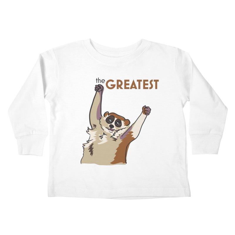 The GREATEST Kids Toddler Longsleeve T-Shirt by LLUMA Creative Design