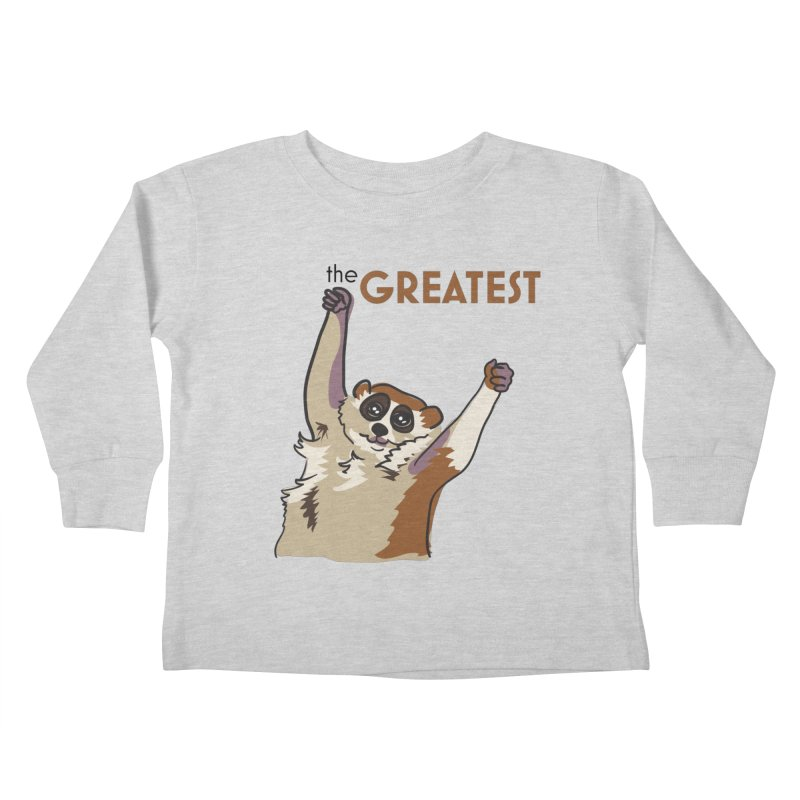 The GREATEST Kids Toddler Longsleeve T-Shirt by LLUMA Design