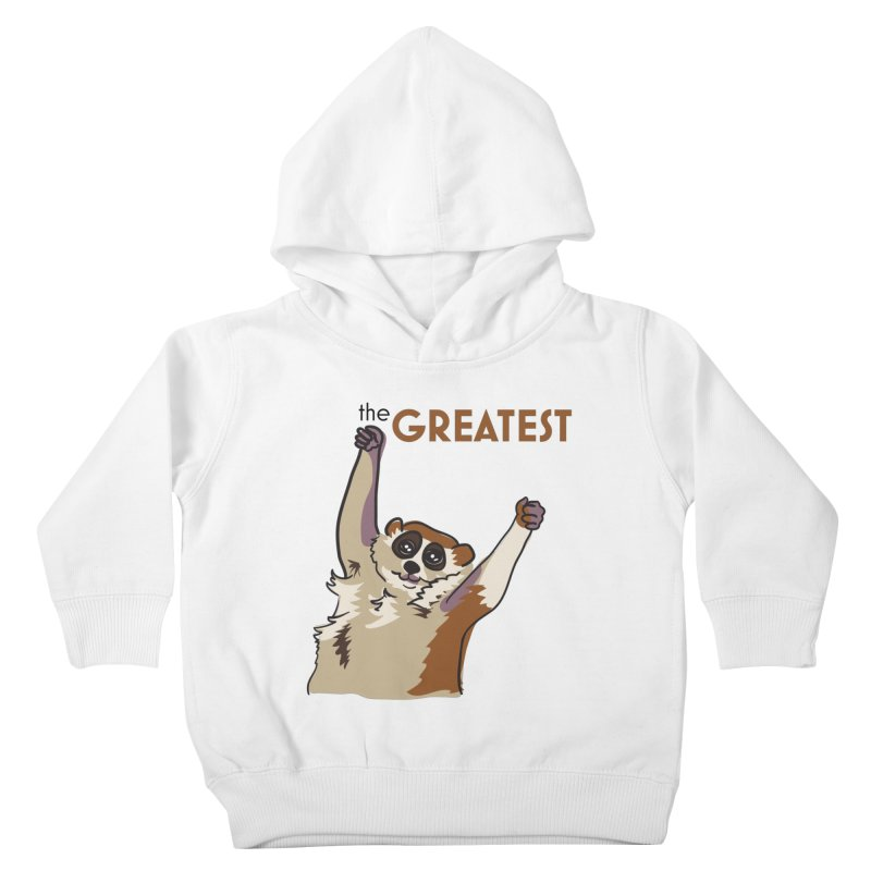The GREATEST Kids Toddler Pullover Hoody by LLUMA Creative Design