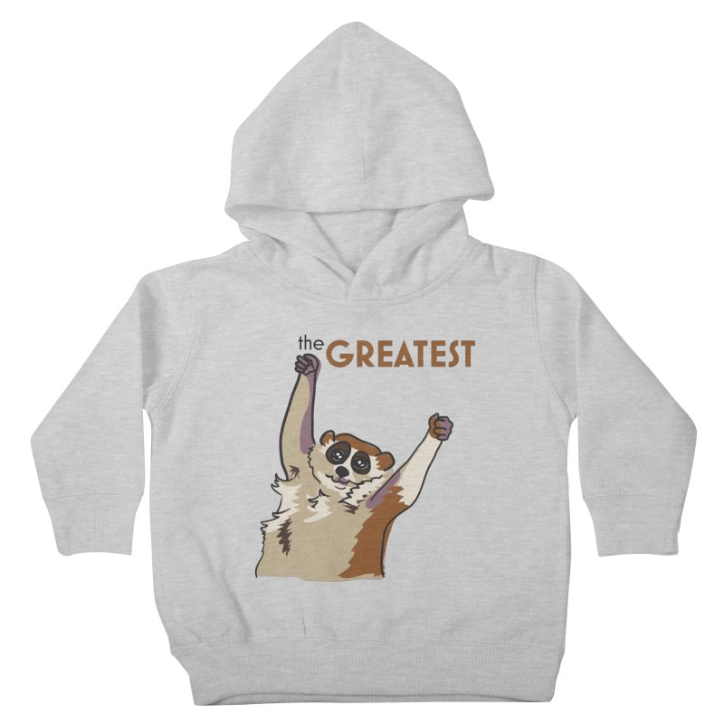 The GREATEST Kids Toddler Pullover Hoody by LLUMA Design