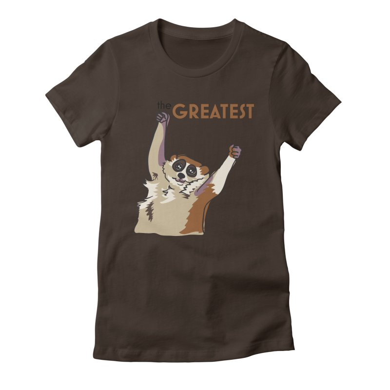The GREATEST Women's Fitted T-Shirt by LLUMA Design
