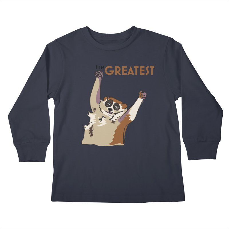 The GREATEST Kids Longsleeve T-Shirt by LLUMA Design