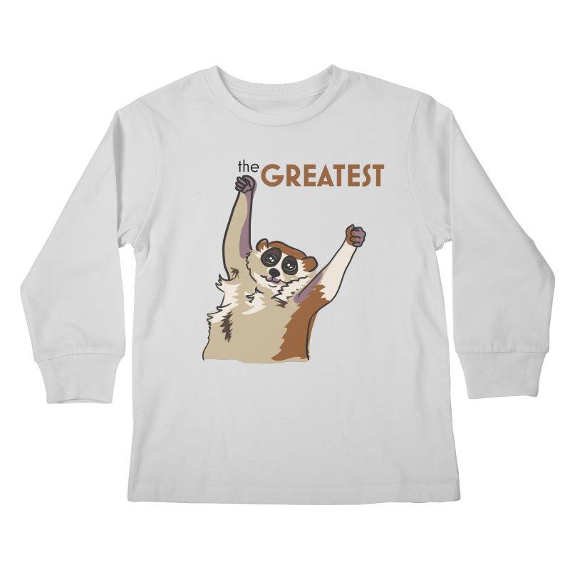 The GREATEST Kids Longsleeve T-Shirt by LLUMA Design