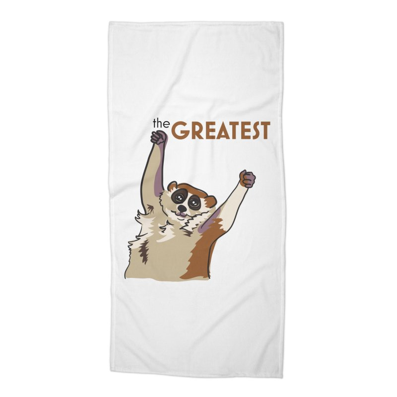 The GREATEST Accessories Beach Towel by LLUMA Creative Design