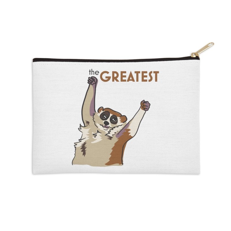 The GREATEST Accessories Zip Pouch by LLUMA Design
