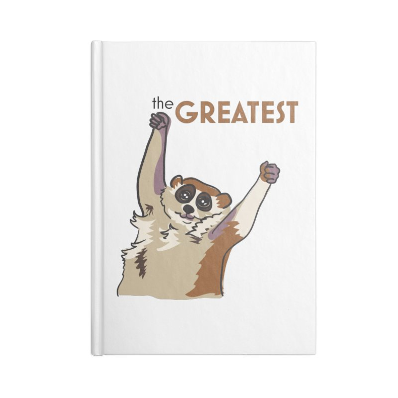 The GREATEST Accessories Notebook by LLUMA Creative Design