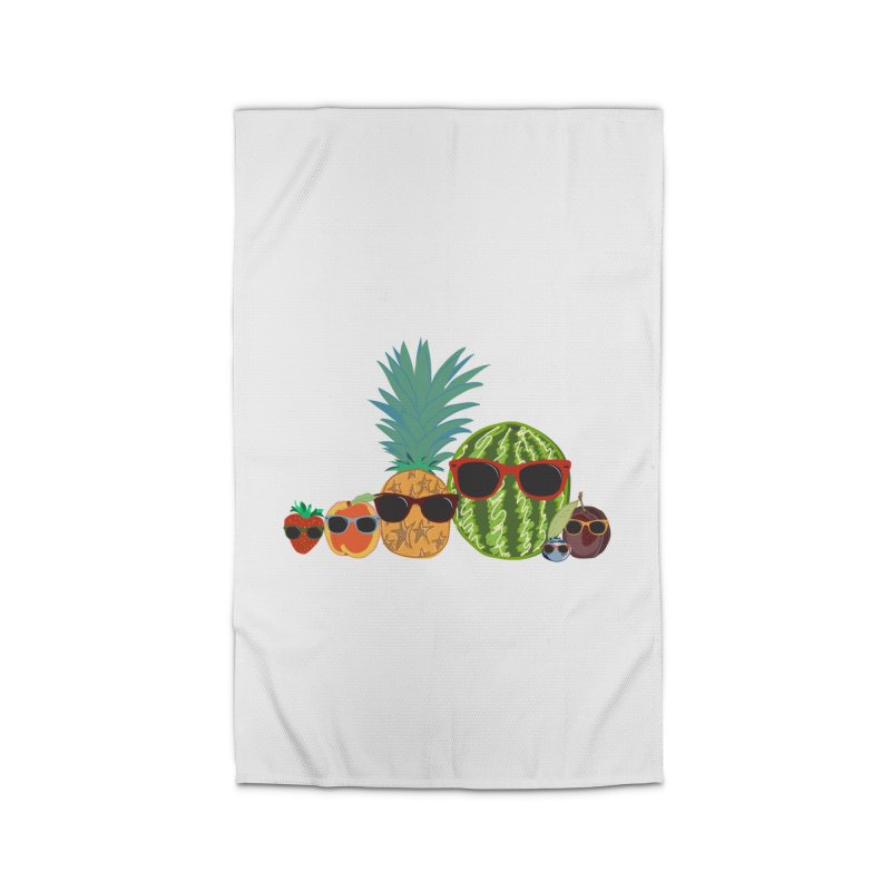 Fruit Party Home Rug by LLUMA Design