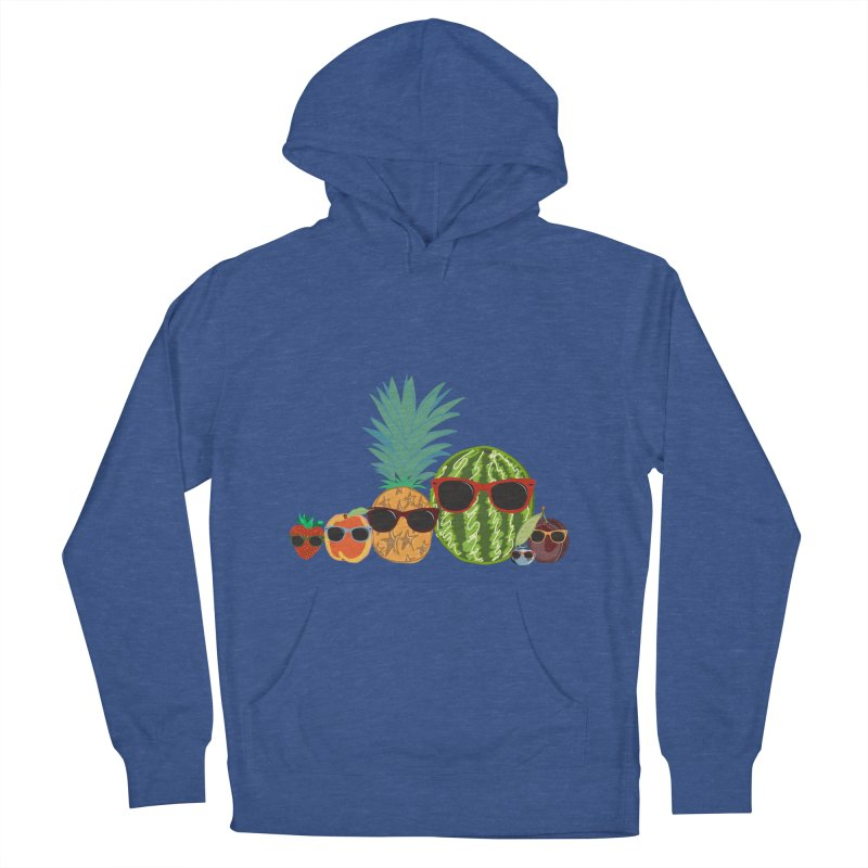 Fruit Party Men's Pullover Hoody by LLUMA Design