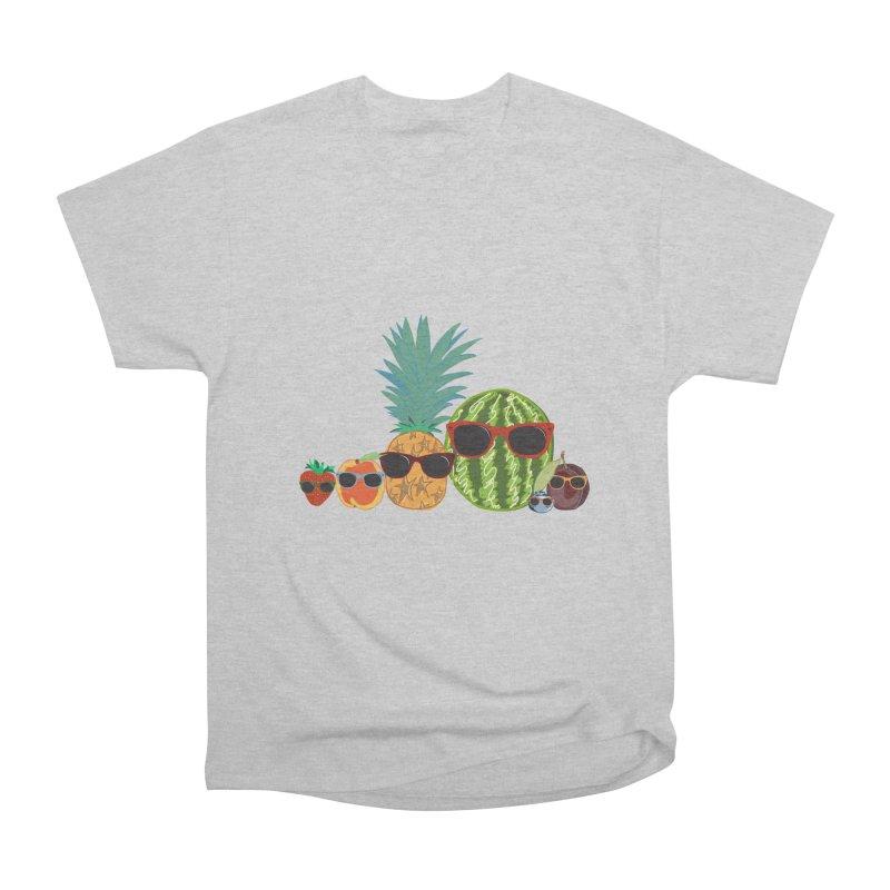 Fruit Party Women's Classic Unisex T-Shirt by LLUMA Design