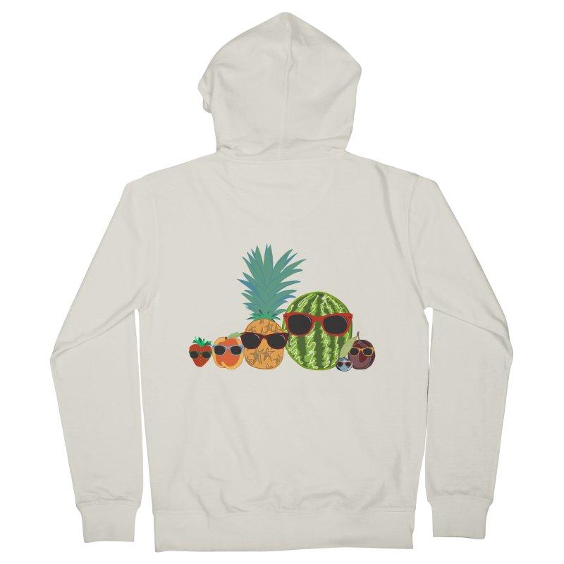 Fruit Party Women's Zip-Up Hoody by LLUMA Design