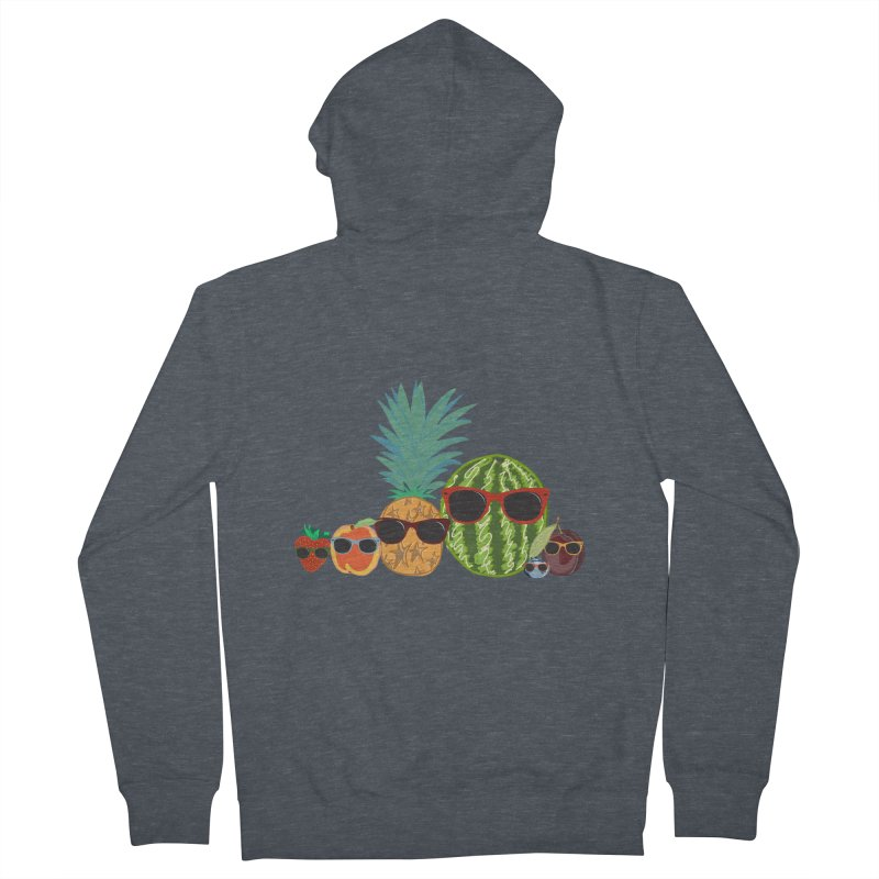 Fruit Party Men's Zip-Up Hoody by LLUMA Design